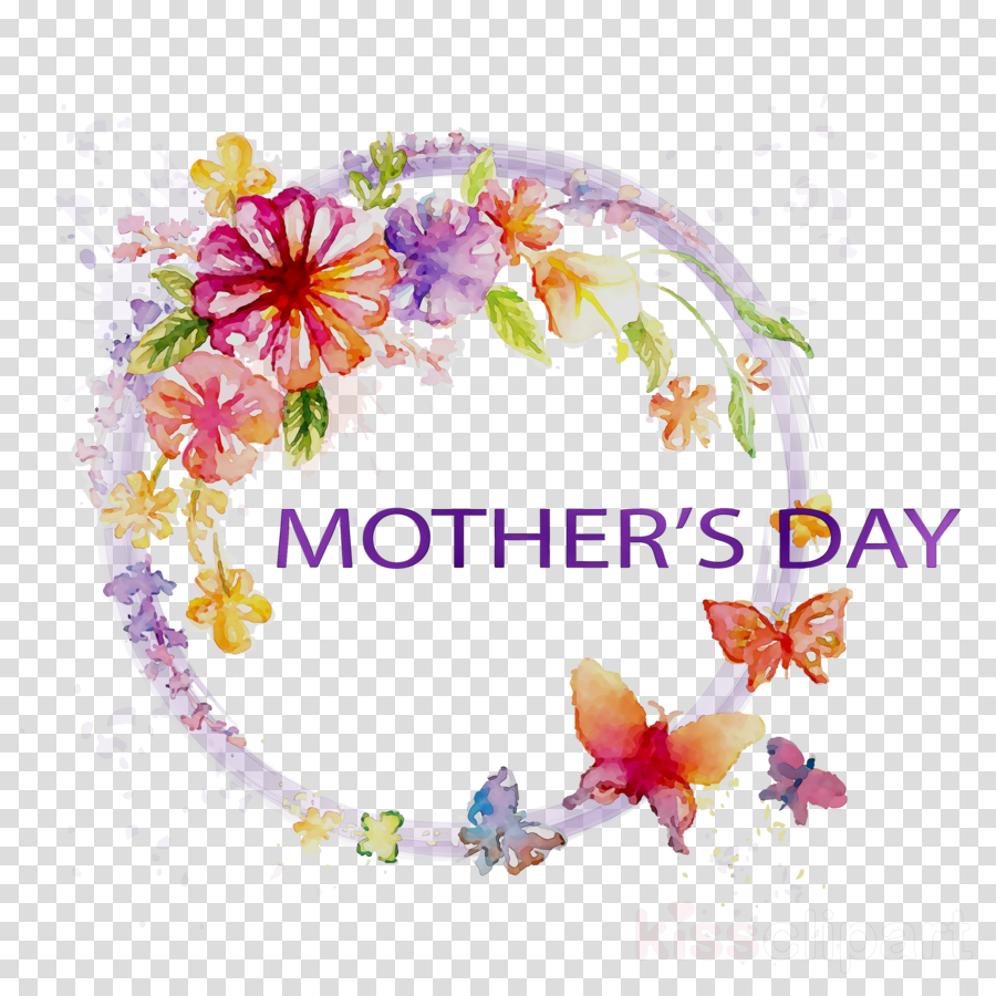 Crafts clipart mothers day. Flower cartoon mother gift