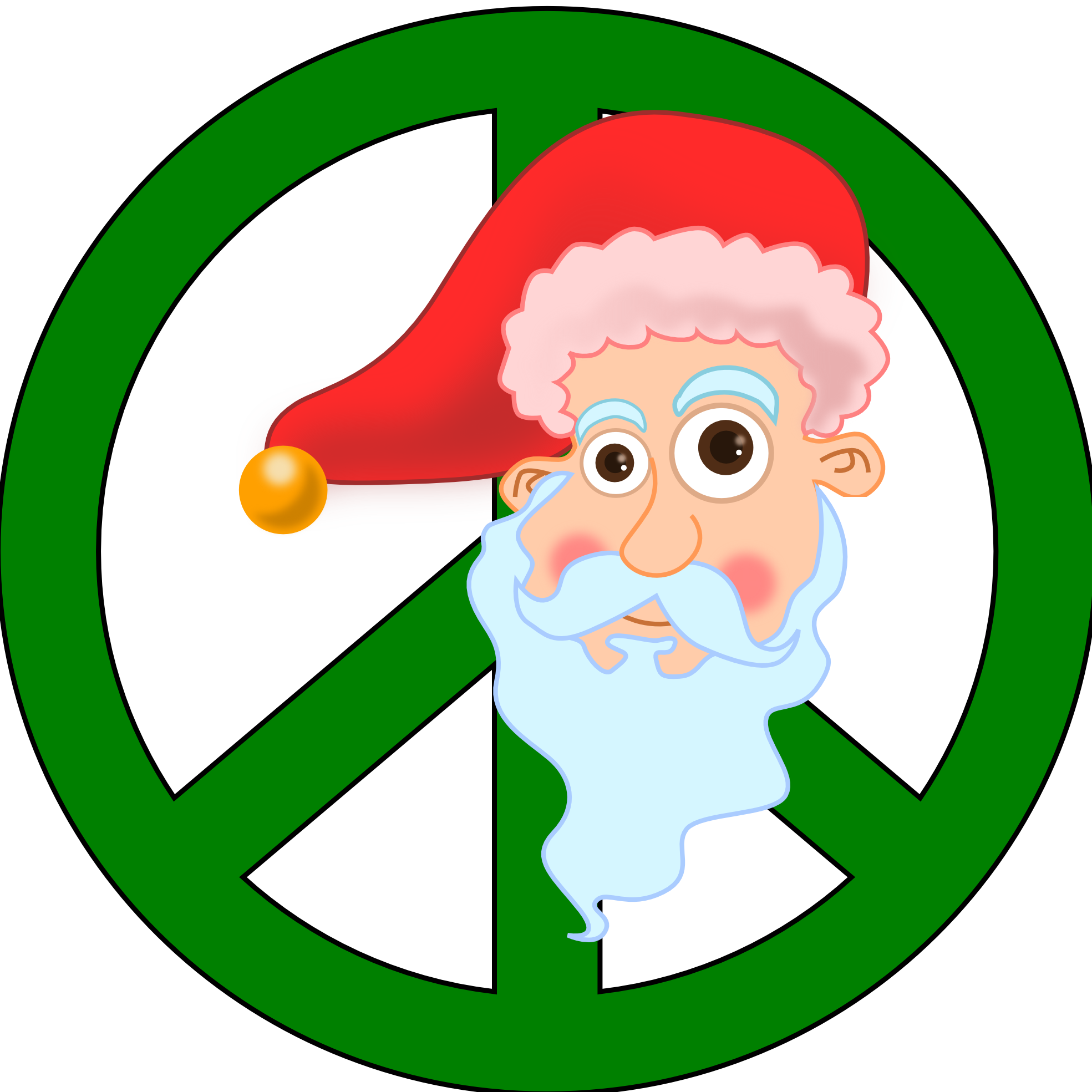 Christmas peace clip art. Crafts clipart sign