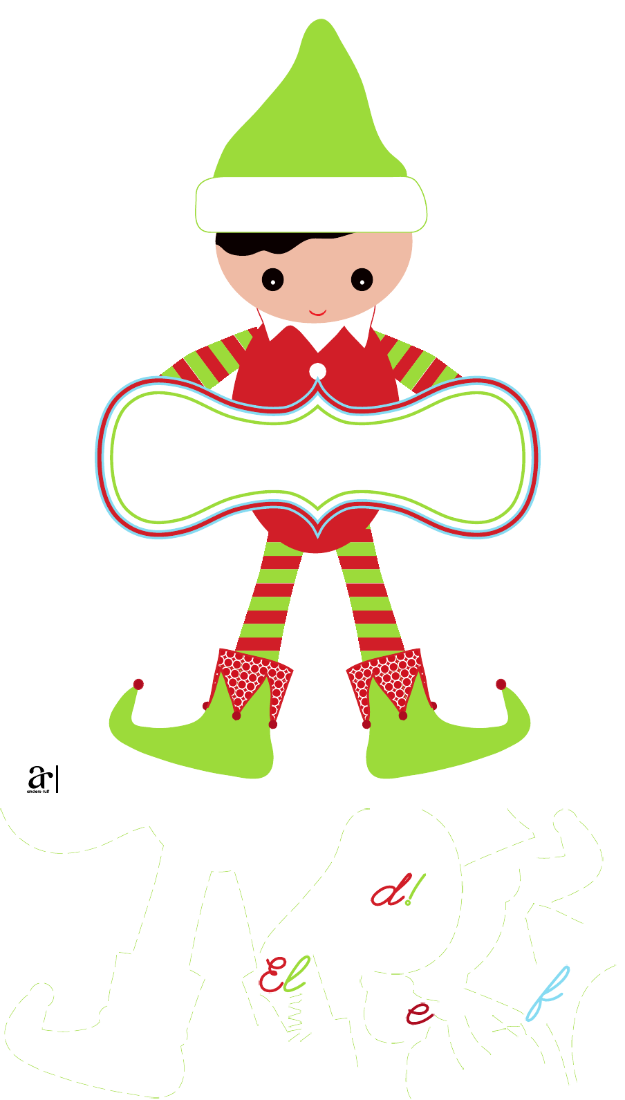 Magical elf you ve. Crafts clipart sign