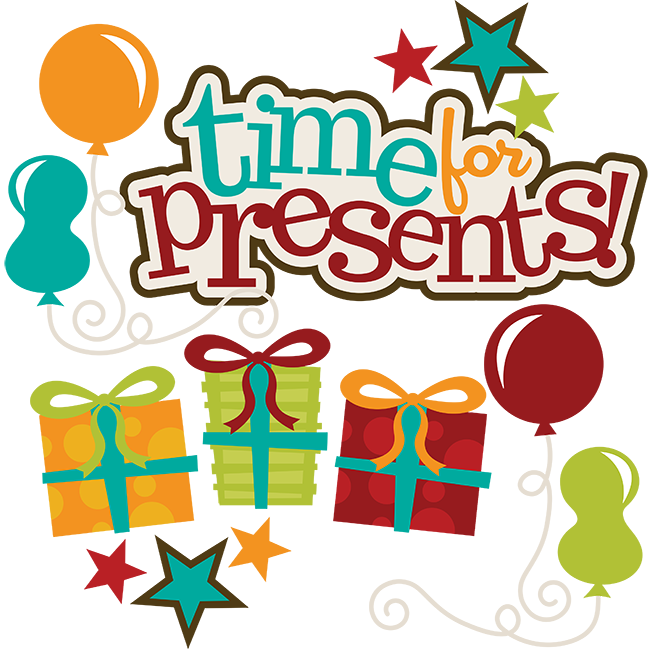 Crafts clipart svg. Time for presents files