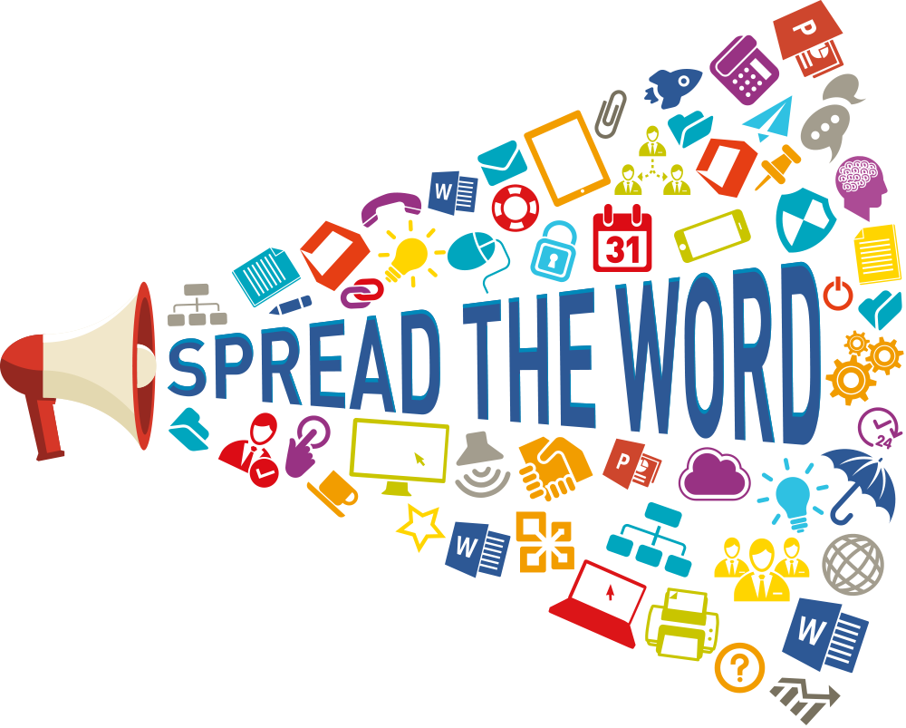 Spread the archives impact. Report clipart word
