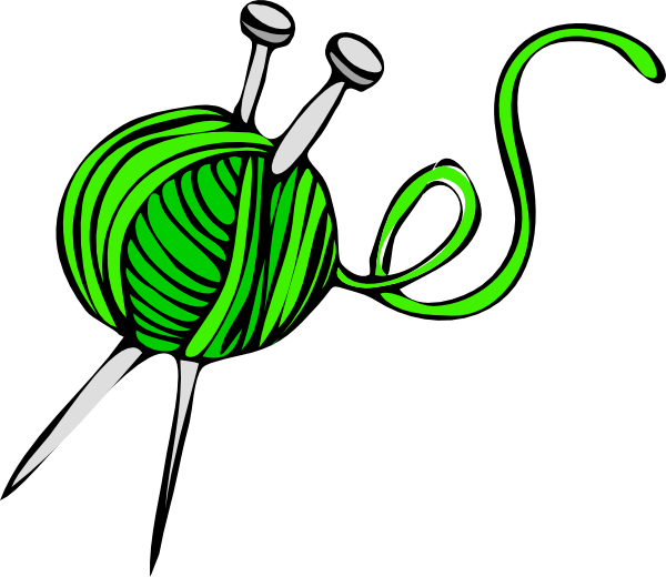 Knitting sew so pinterest. Crafts clipart yarn