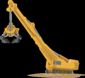Crane clipart. Lifting clip art at