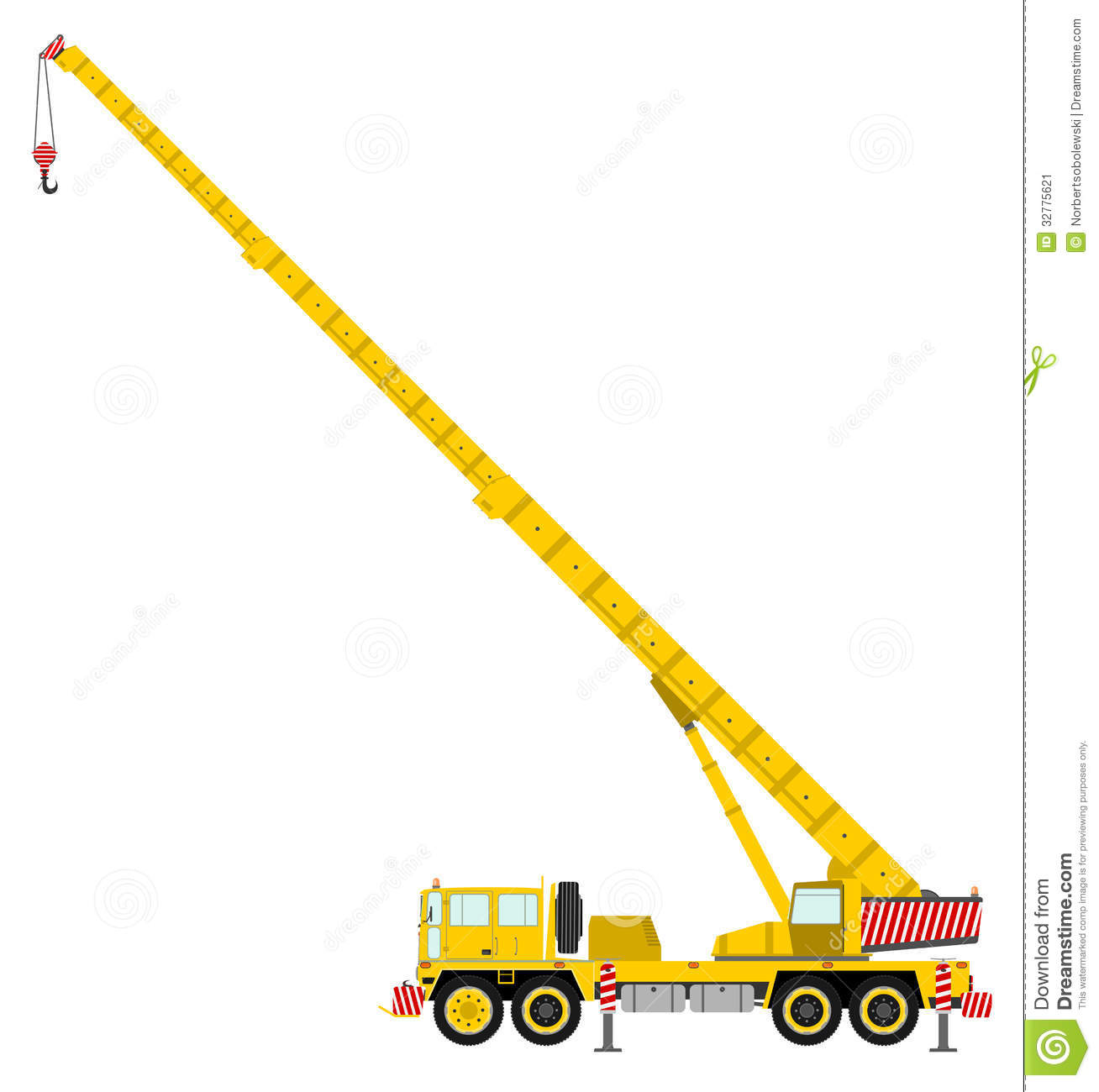 Construction . Crane clipart