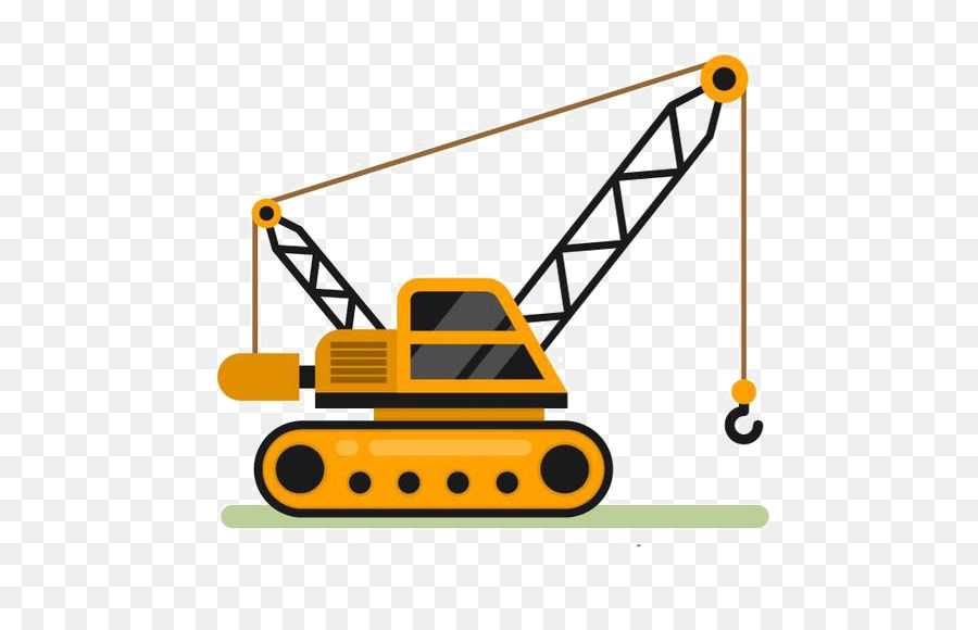 Crane clipart. Architectural engineering clip art