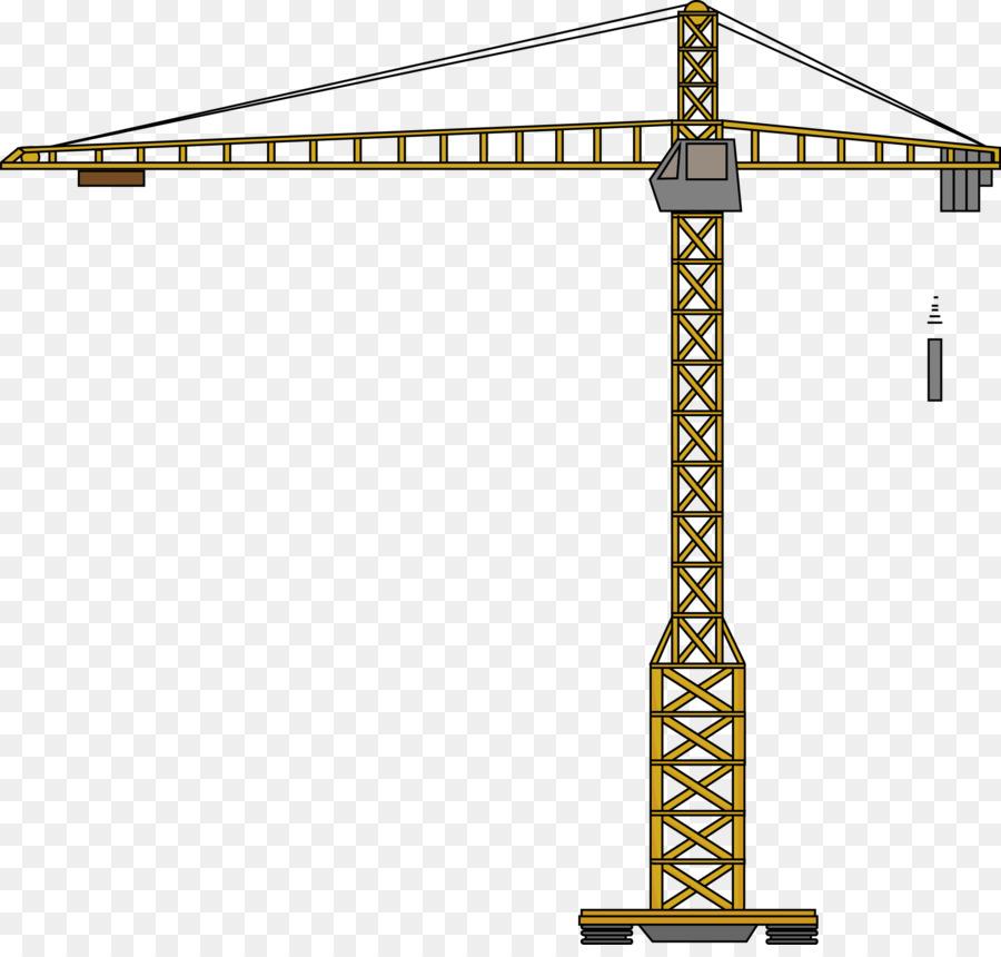 Mobile drawing . Crane clipart cartoon construction