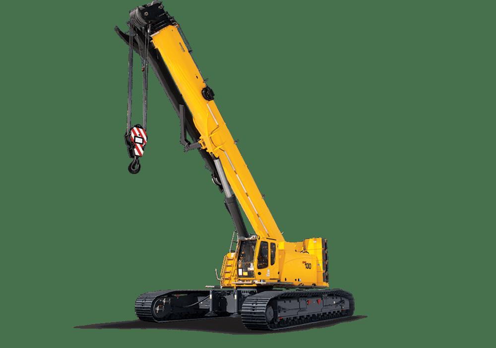 Telescopic crawler transparent png. Crane clipart construction equipment