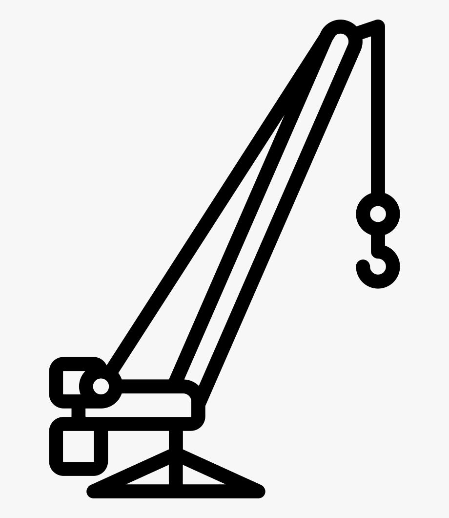 Truck comments clip art. Crane clipart construction logo