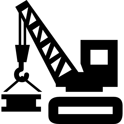 Crane clipart construction logo. Pin on transportation work