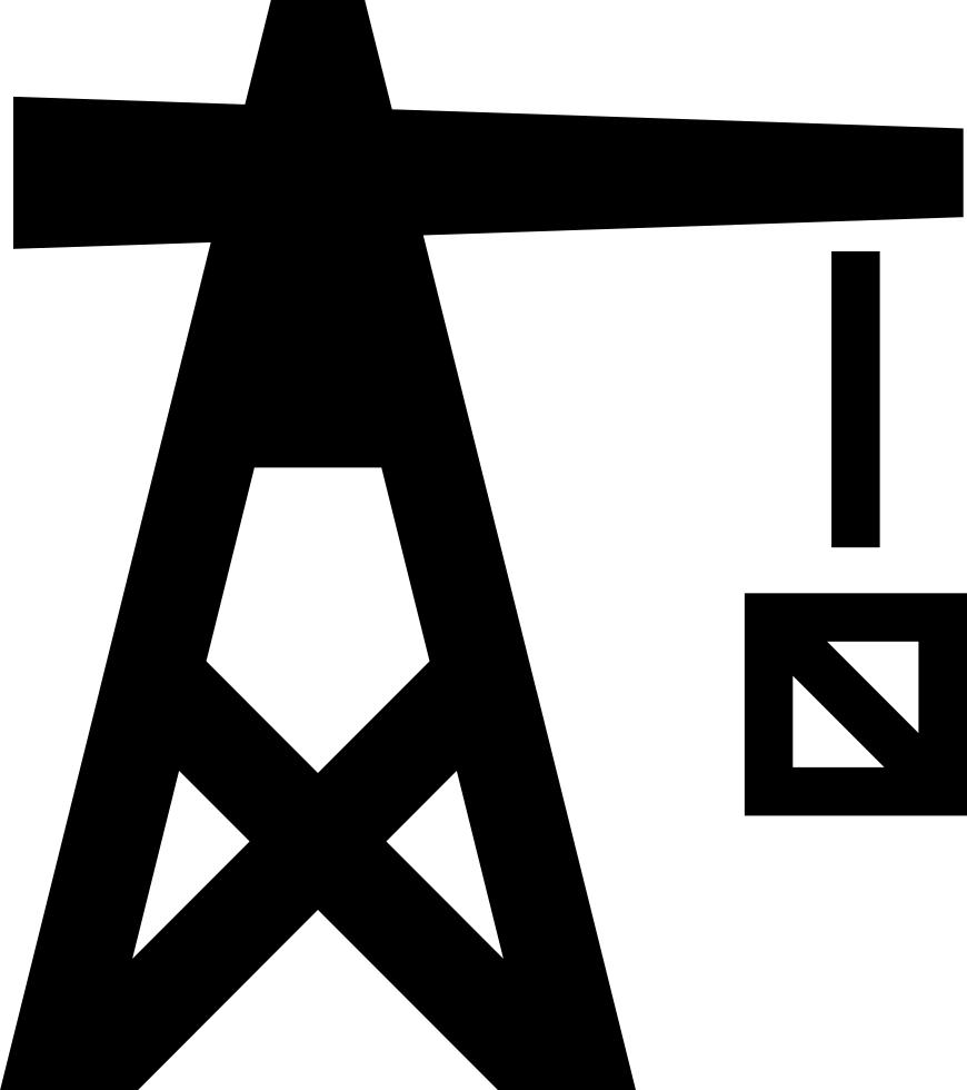 Crane clipart construction logo. Svg png icon free