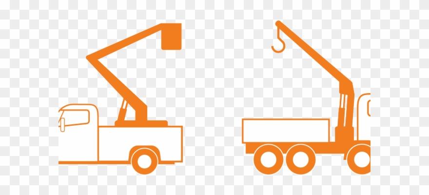 Bucket truck clip art. Crane clipart construction logo