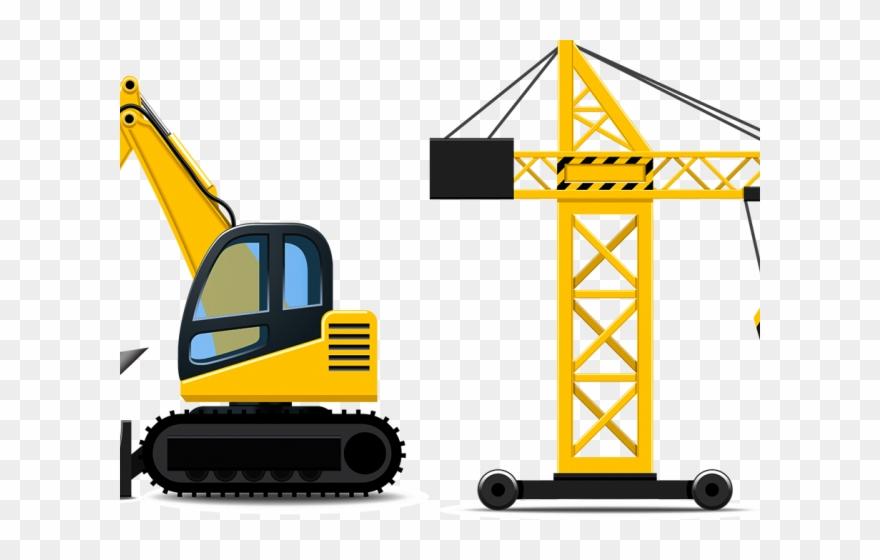Crane clipart construction vehicle. Cartoon trucks