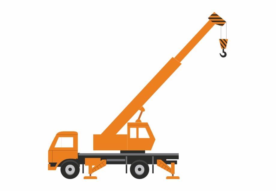 Crane clipart constuction. Without load clip art