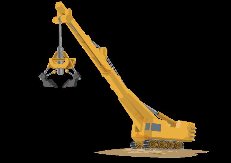 Crane clipart crane arm.  collection of lifting