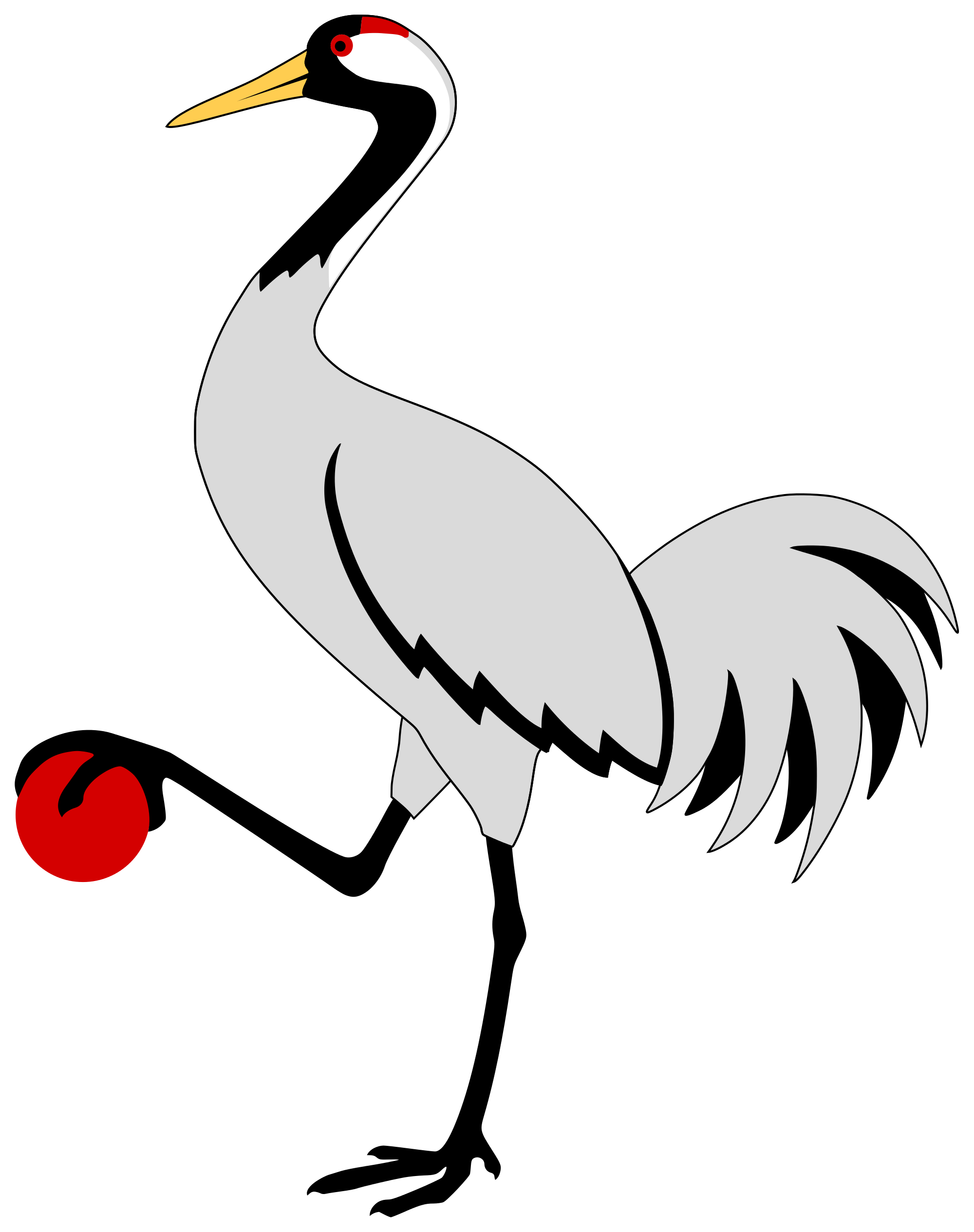 Crane clipart crane arm. File heraldic svg wikimedia