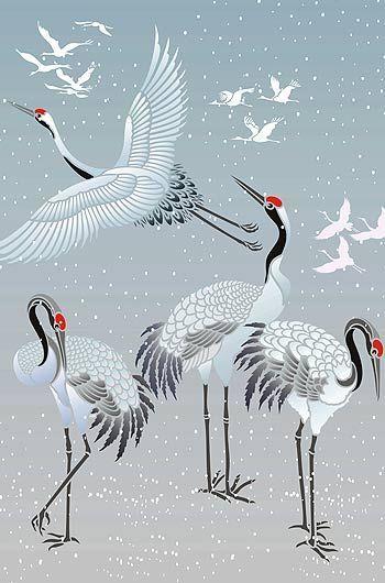 Sandhill pencil and in. Crane clipart crane japanese