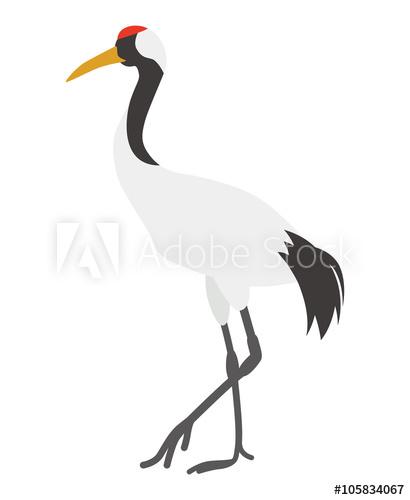 buy this stock. Crane clipart crane japanese