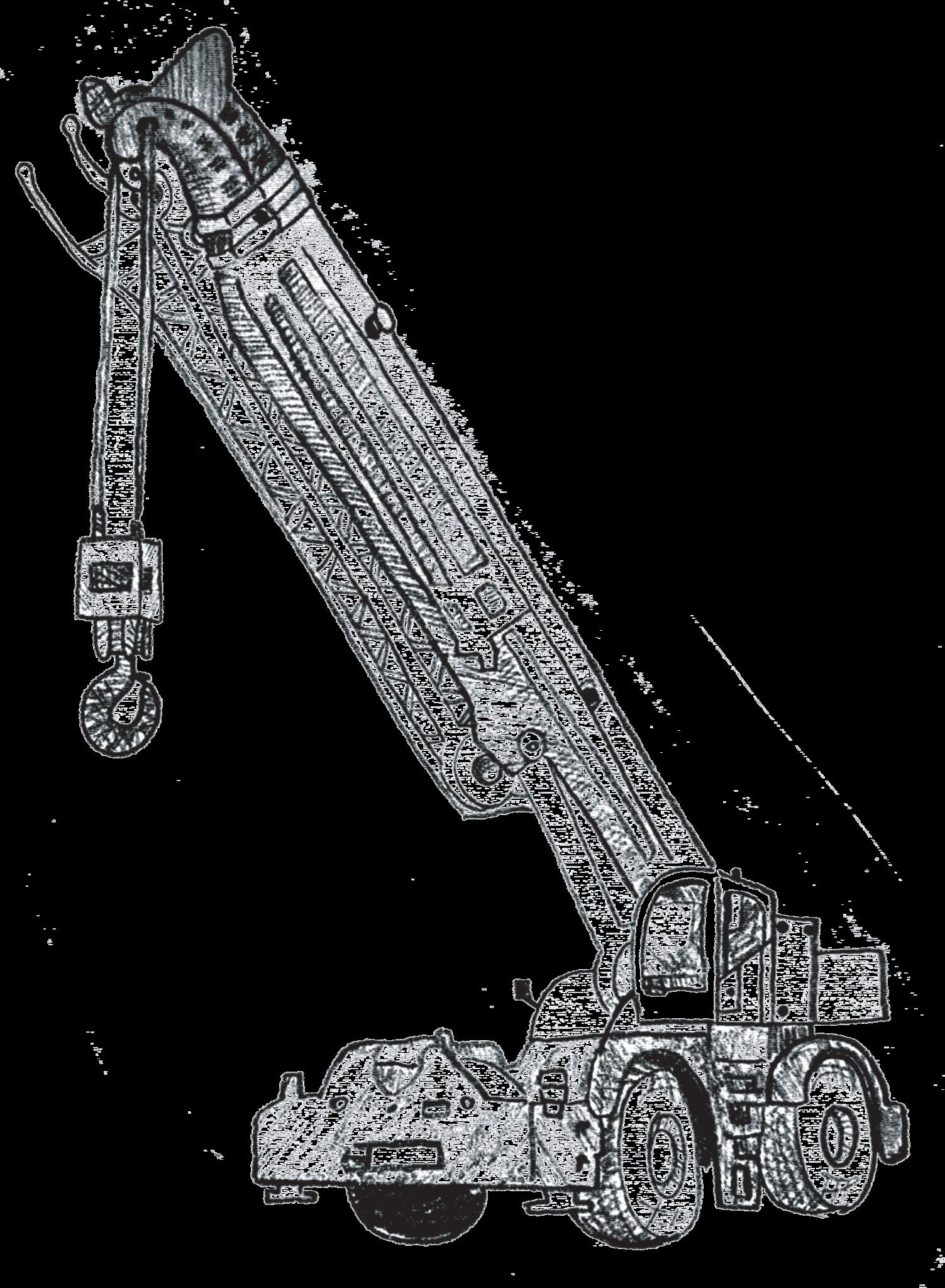 Rough terrain rental fl. Crane clipart crawler crane