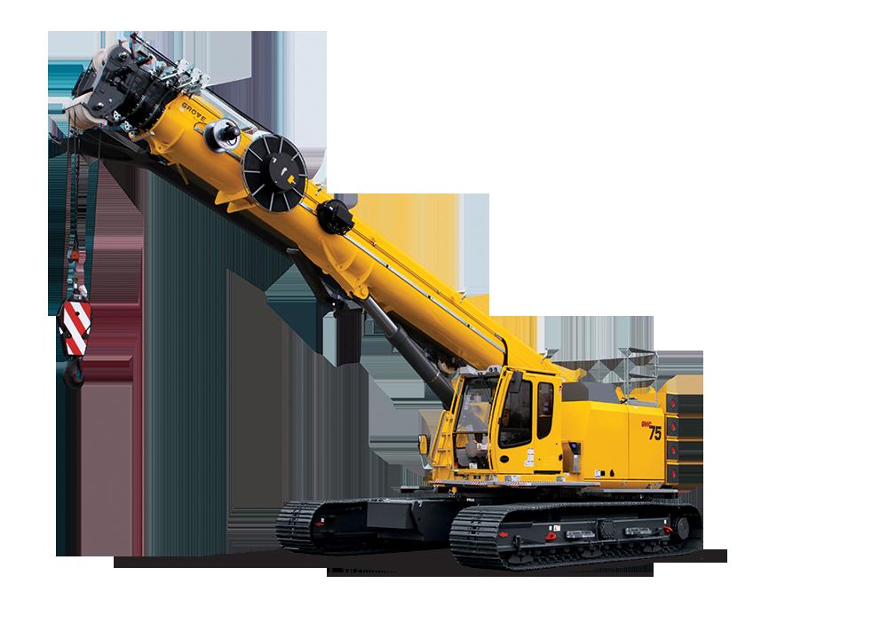 Mobile png telescopic crawlers. Crane clipart hydraulic crane
