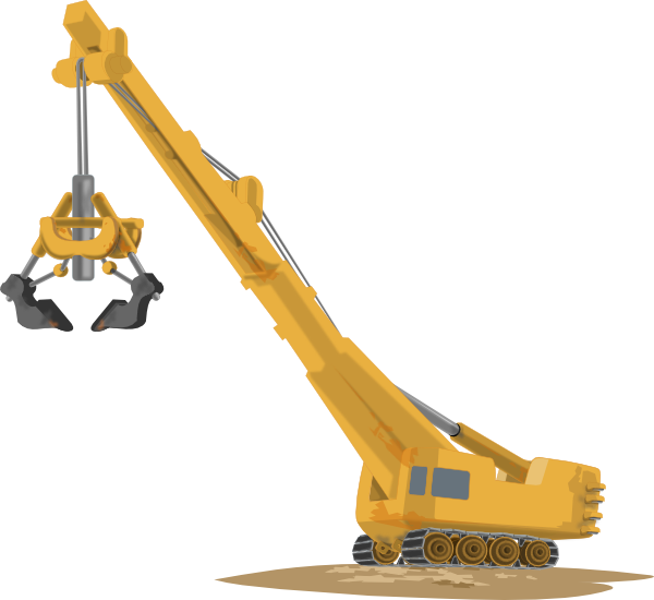 Website clipart vector. Crane lifting clip art