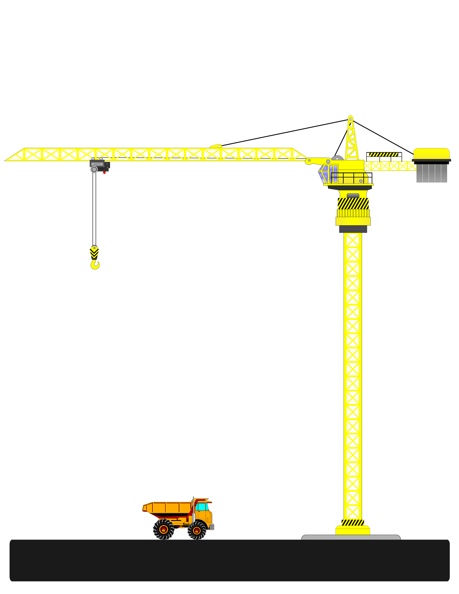 Big image png. Crane clipart small tower