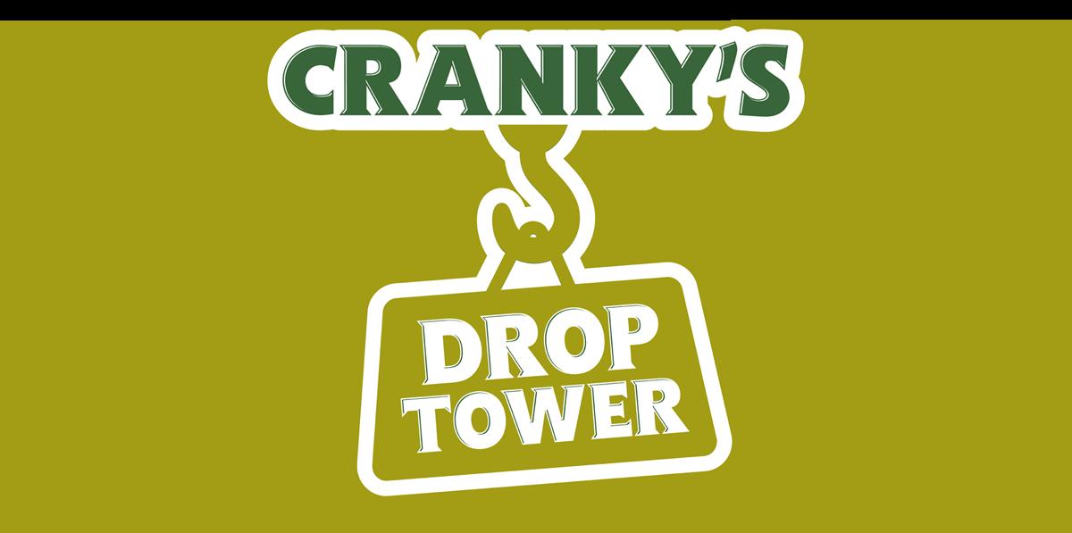 Crane clipart small tower. Cranky theme park rides