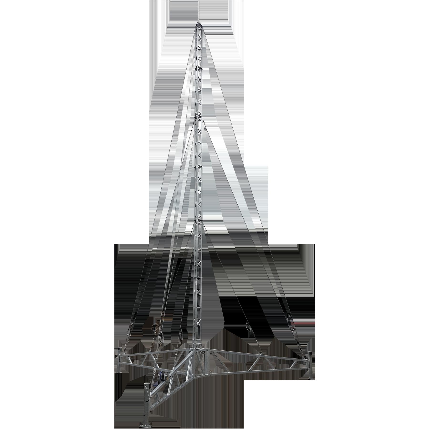 Towers apac portable lattice. Crane clipart small tower