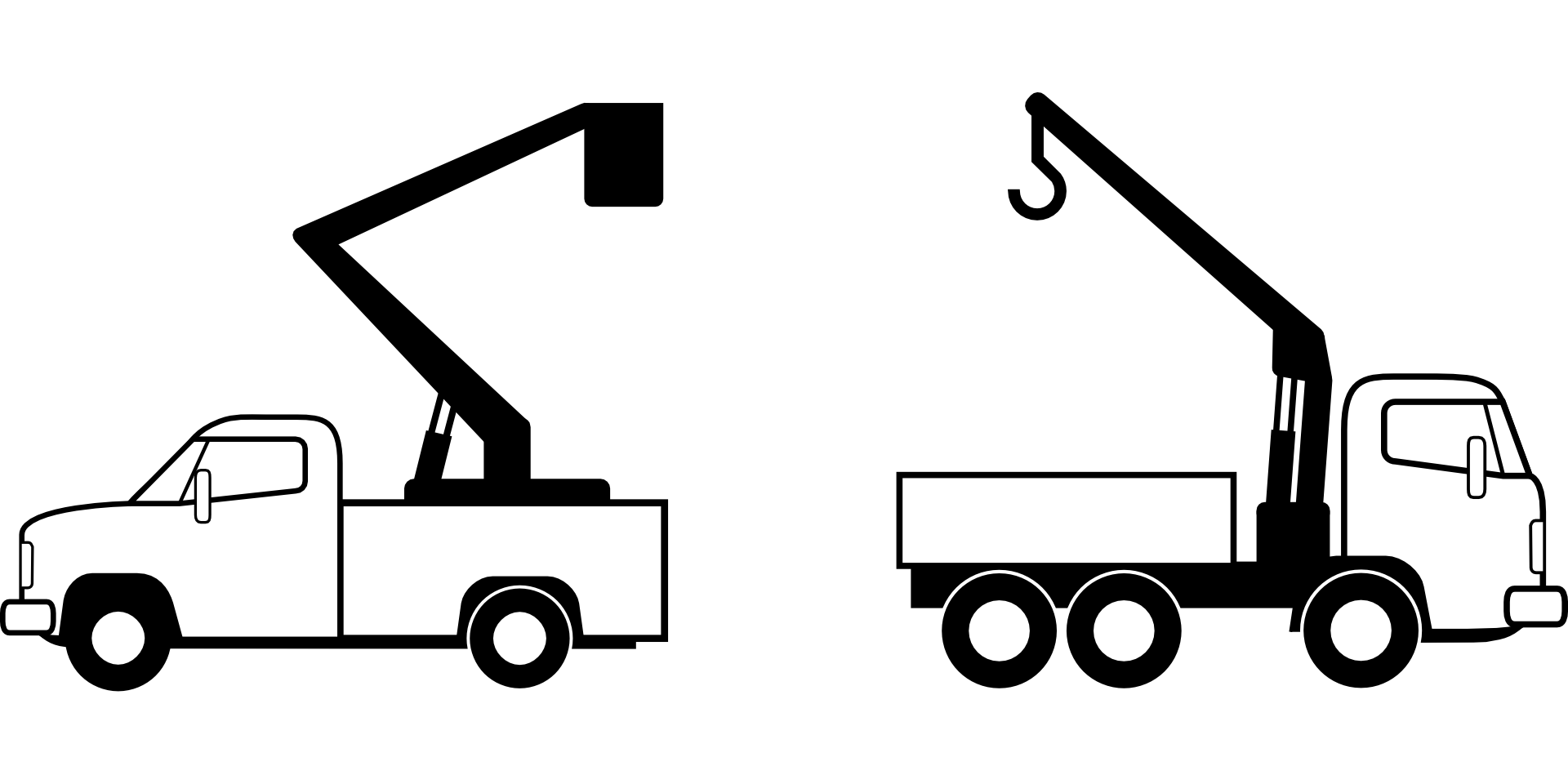 Crane clipart work vehicle. Mobile truck clip art