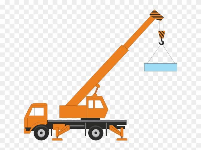 Free download clip art. Crane clipart work vehicle