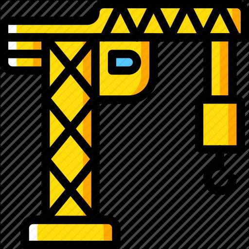 X free clip art. Crane clipart yellow