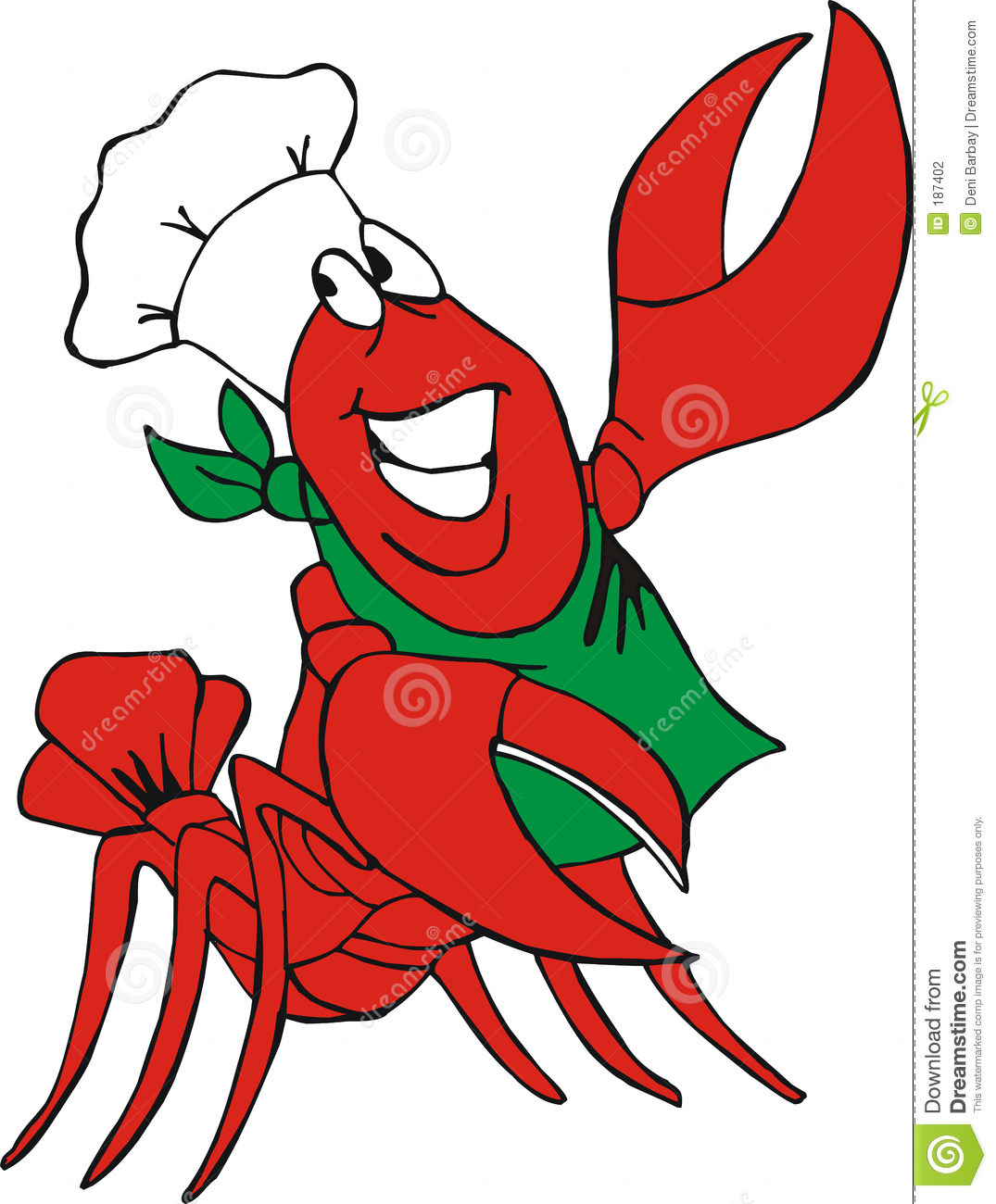 Cajun . Crawfish clipart
