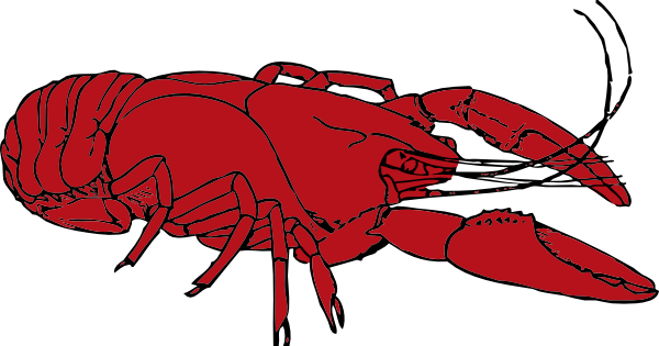 Crawfish clipart. Louisiana
