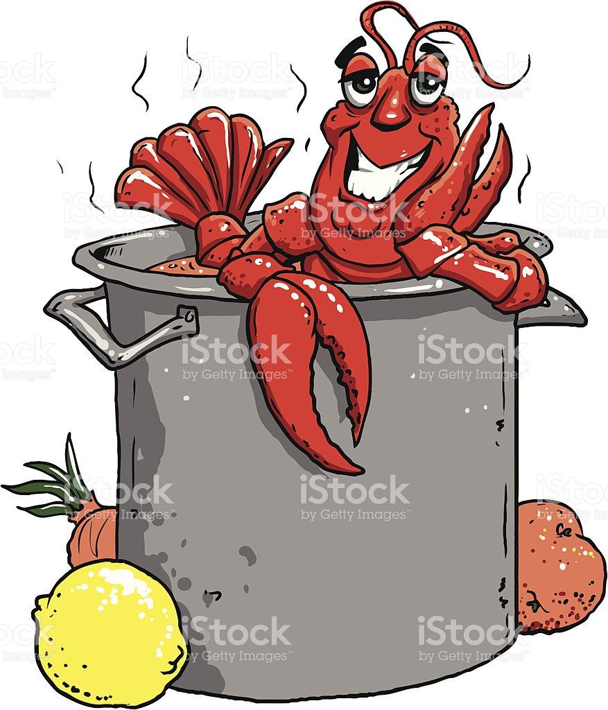 Crawfish clipart. Shrimp pencil and in