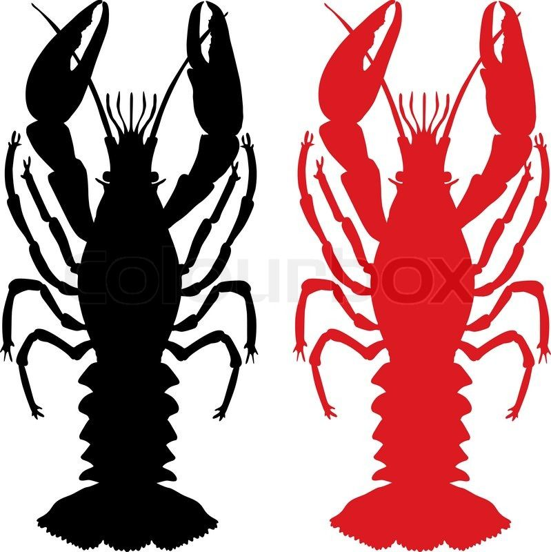 Crawfish clipart. Free download silhouette for