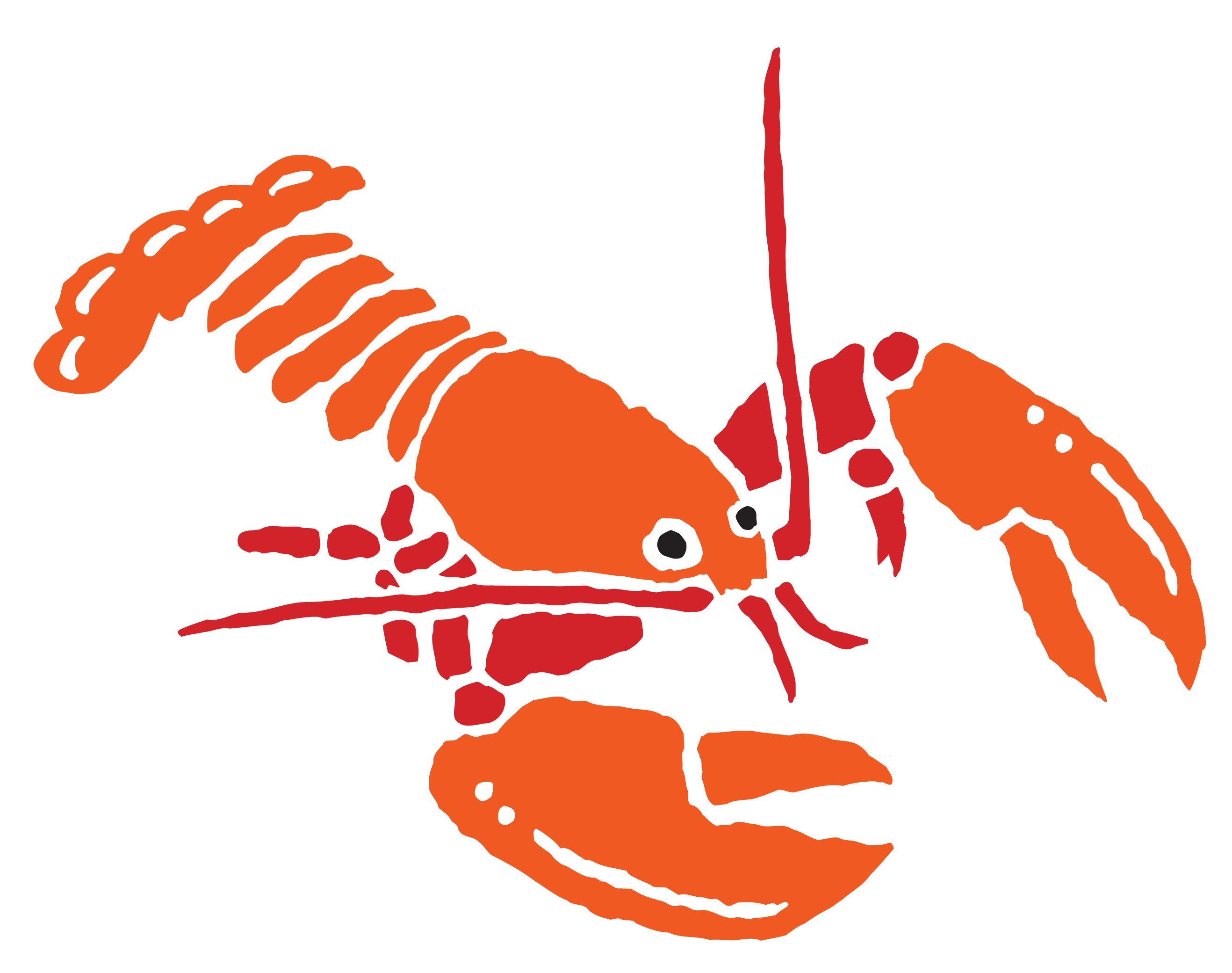 Index of fon r. Seafood clipart crayfish
