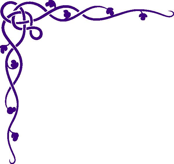 Purple clip art at. Crawfish clipart border