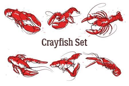 X free clip art. Crawfish clipart border
