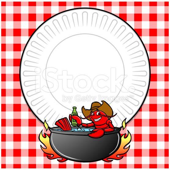 Boil free download best. Crawfish clipart border
