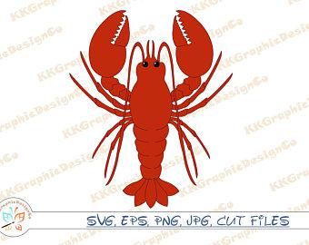 Etsy . Crawfish clipart file