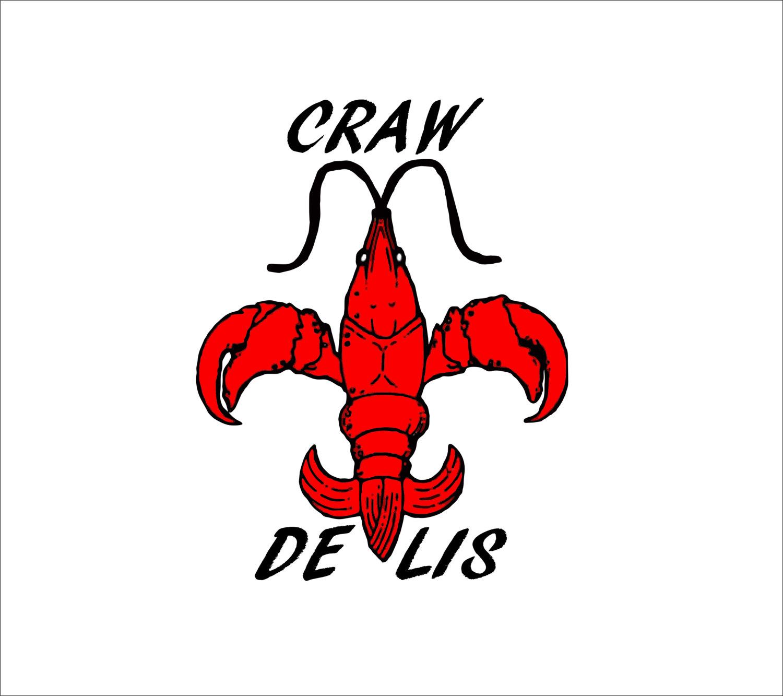 Silhouette cliparts free download. Crawfish clipart fleur de lis