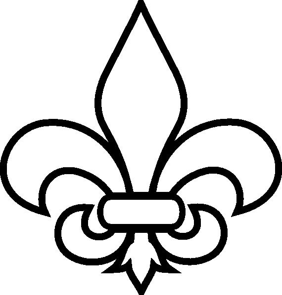 Silhouette at getdrawings com. Crawfish clipart fleur de lis