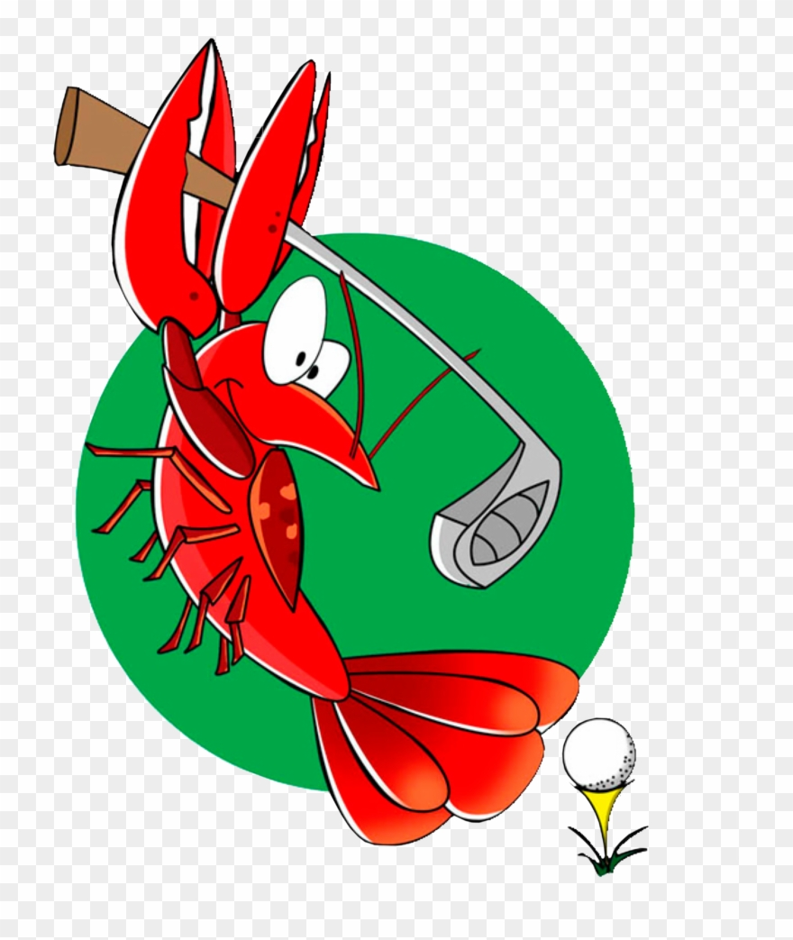 Golf tournament png . Crawfish clipart happy