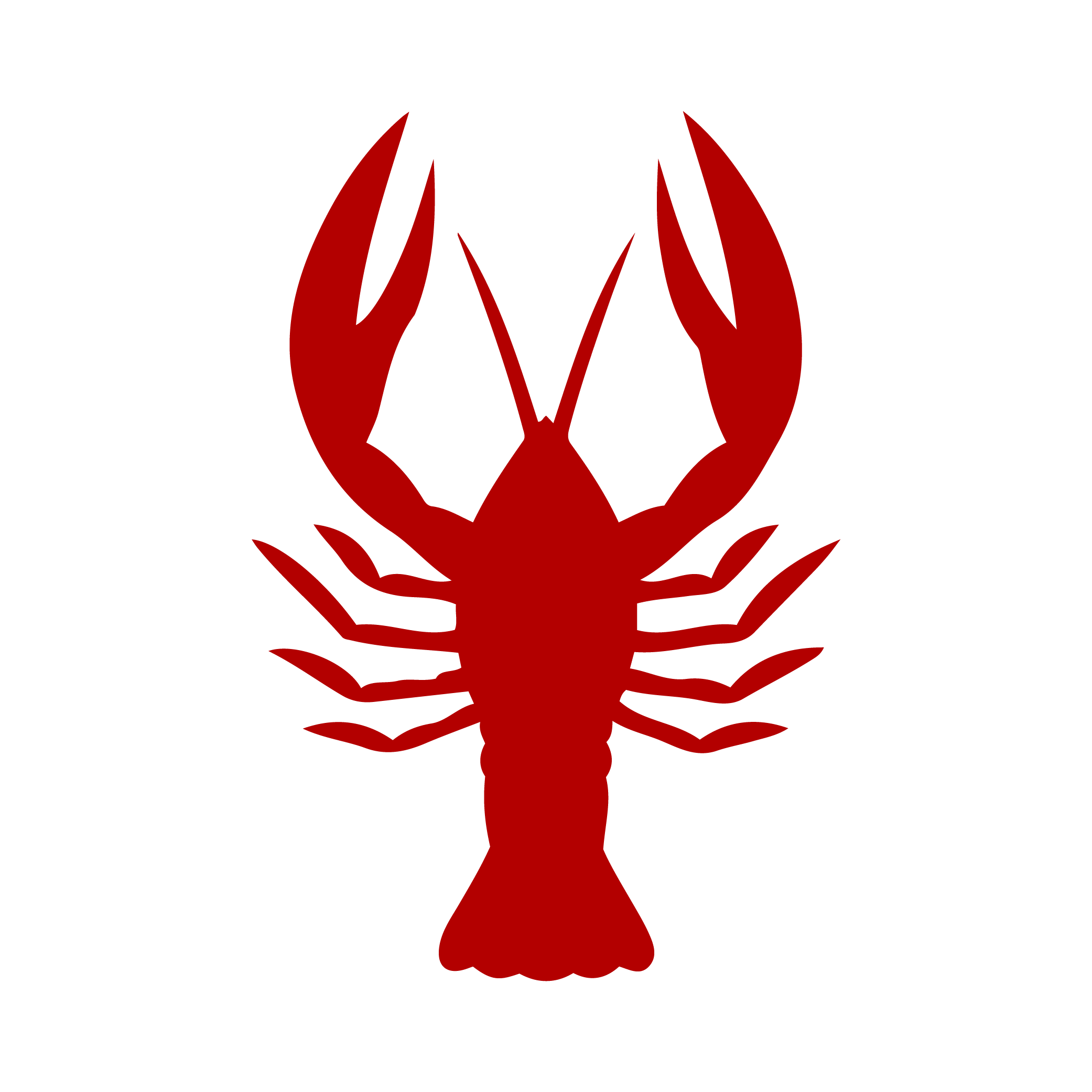 Crawfish clipart lobster. Crayfish vector graphics seafood