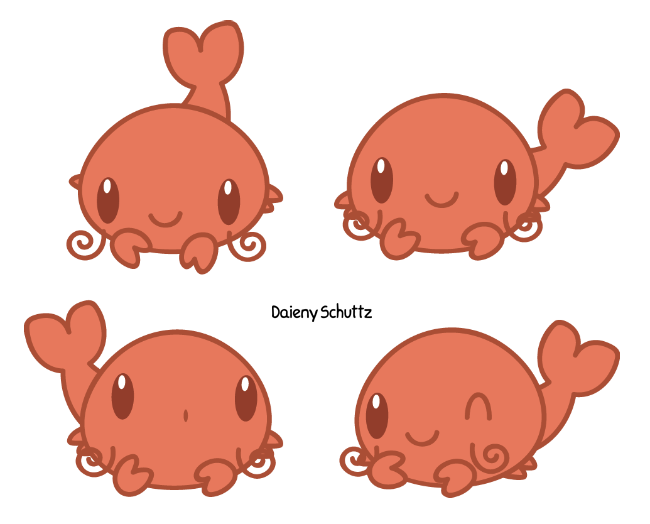 Chibi by daieny on. Crawfish clipart lobster