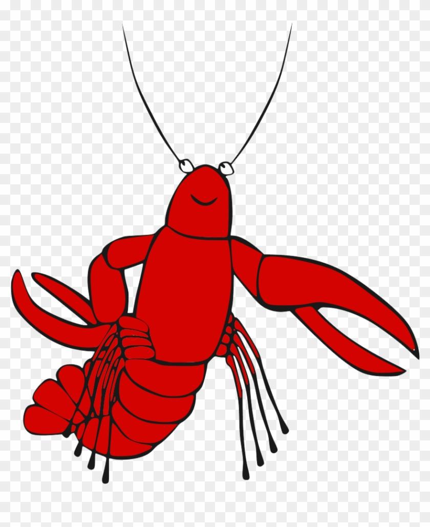 Lobster transparent background free. Crawfish clipart pdf