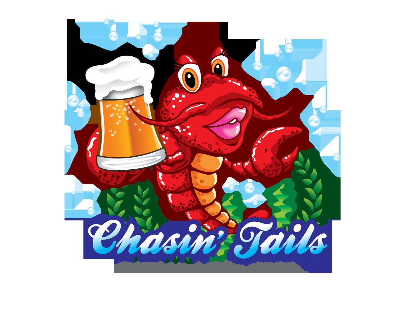 Crawfish clipart ragin cajun. Chasin tails