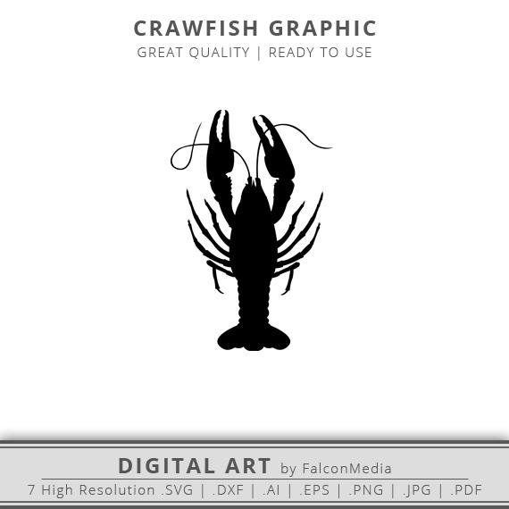 Clip art outline . Crawfish clipart svg