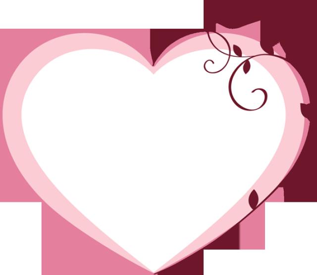 Valentines day cilpart. Frame clipart valentine