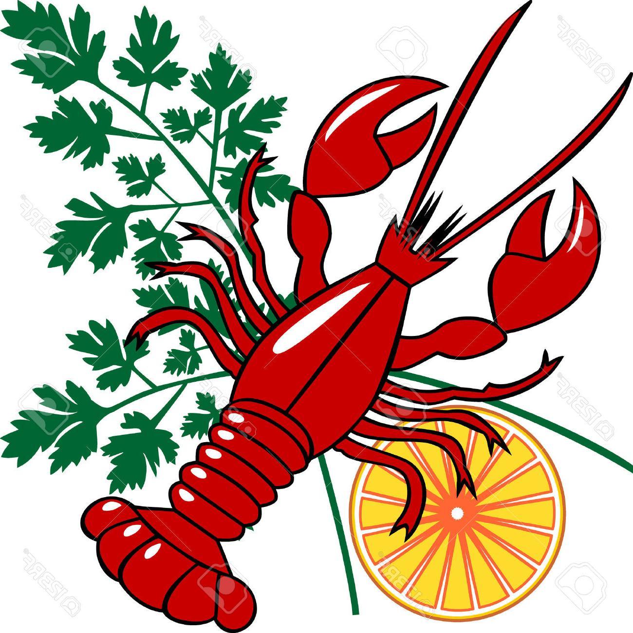 Hd clip art design. Crawfish clipart vector