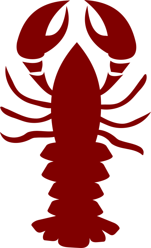 Lobster clipart simple.  crawfish huge freebie